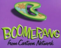 Boomerang Logo (screenshot image taken from the Boomerang channel by ScoobyAddicts.com)