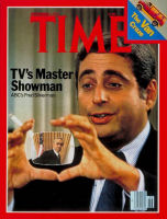 Fred Silverman on the cover of Time Magazine in 1977 (image from Answers.com)